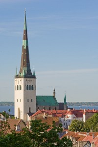 Tallinn, Old Town Tallinn, UNESCO World Heritage Site, medieval architecture, Estonia, Estonian Travel, estonia history, estonia culture, estonia tourism, visit estonia, St. Olaf's Church spire, tallest building in the world