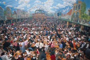 A scene from Oktoberfest in Munich. Used with permission.