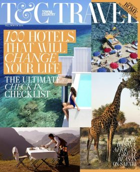 Town & Country, Travel 100 List