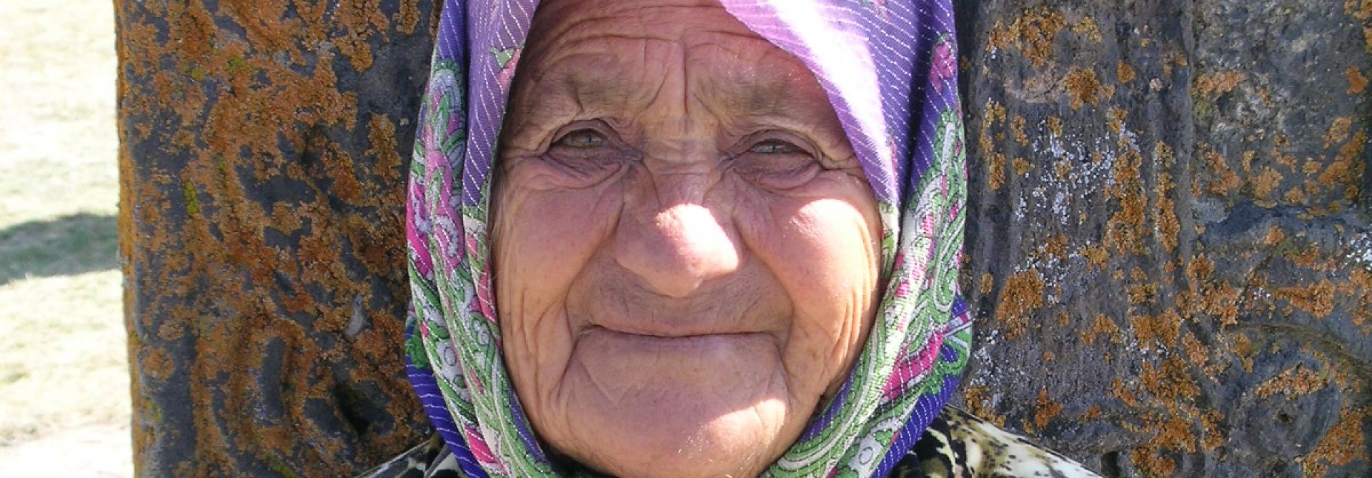 Local Lady - Khatchcar, Armenia