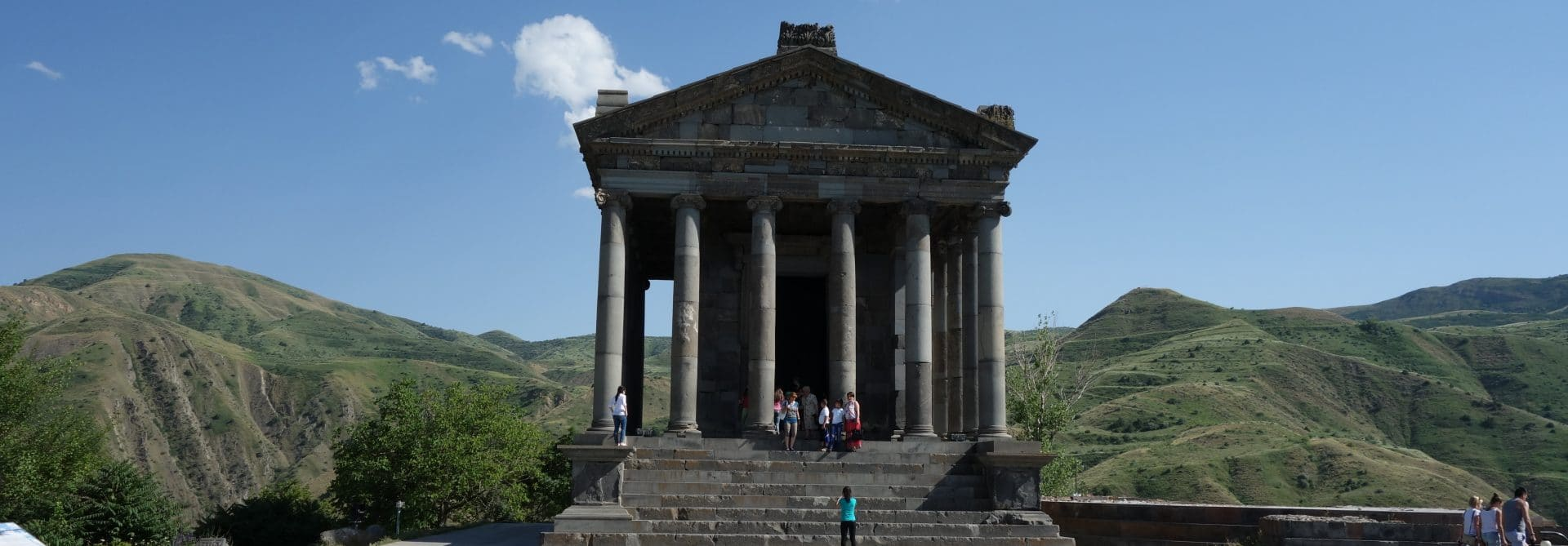 Temple at Garni, Armenia