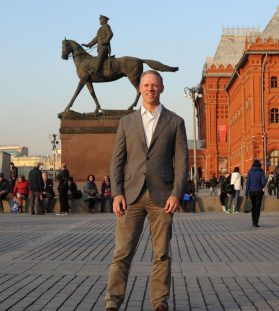 Greg in Red Square