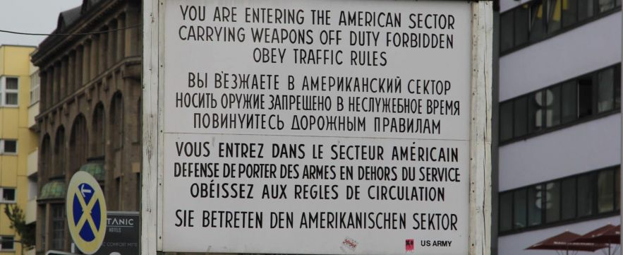 Checkpoint Charlie - Berlin, Germany
