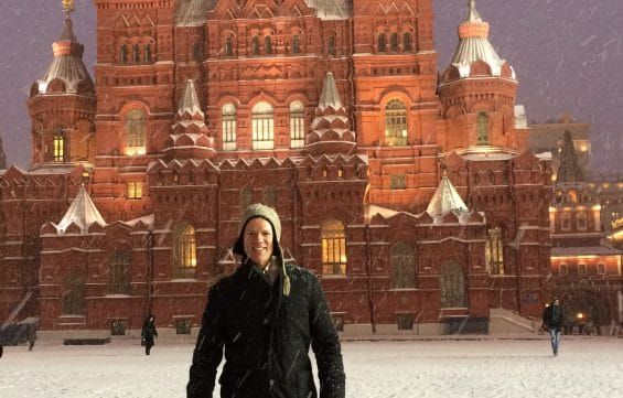 Greg Tepper, Red Square - Moscow, Russia