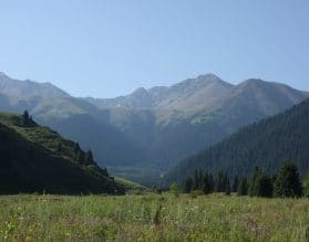 Kazakhstan, Mountains, Almaty