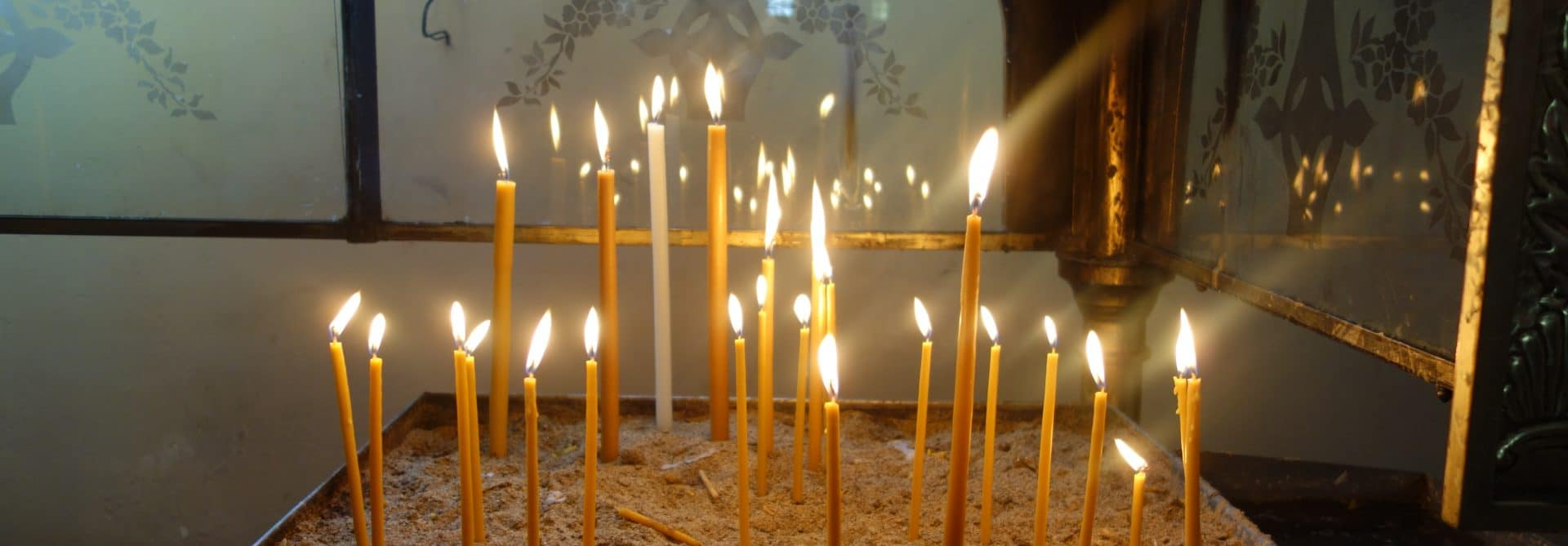 Rila candles Bulgaria