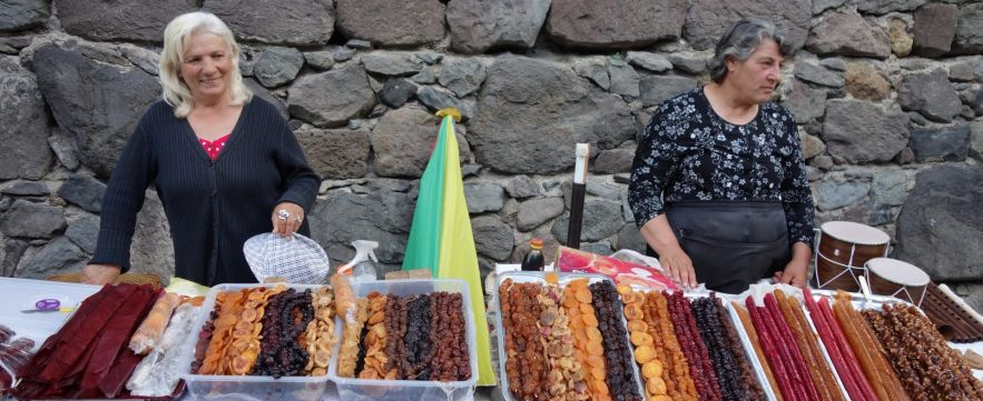 Market Ladies - Yerevan, Armenia