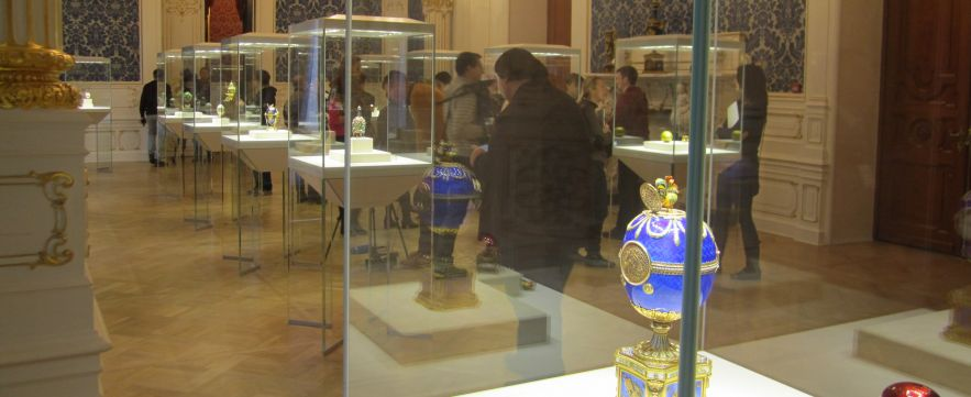 Faberge Museum, St Petersburg, Russia