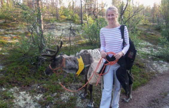 Leigh Noss in Lapland