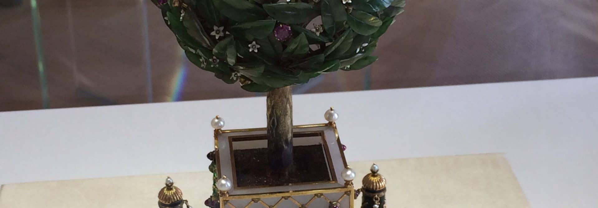 Bay Tree Faberge Egg, St. Petersburg, Russia