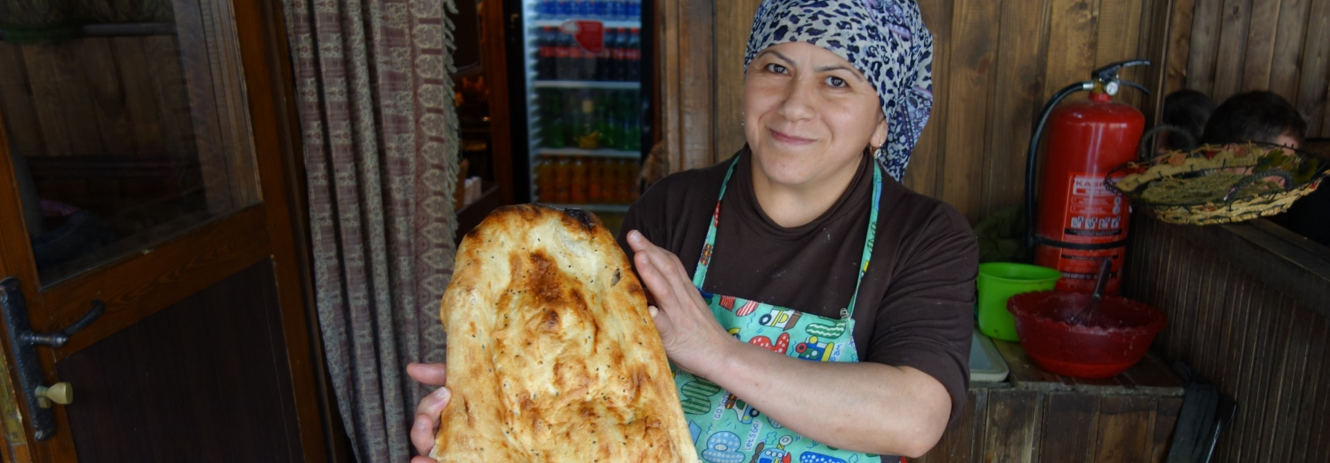 Bread Lady, Baku