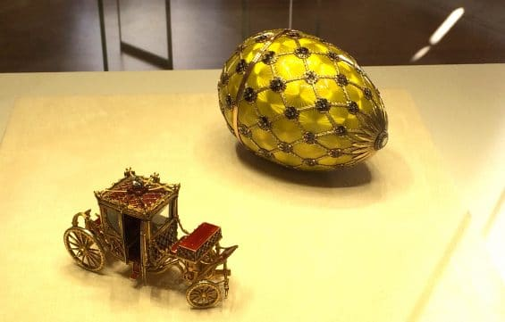 Faberge Museum, St. Petersburg, Coronation Egg