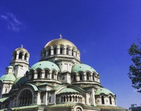 Sofia Cathedral, Bulgaria