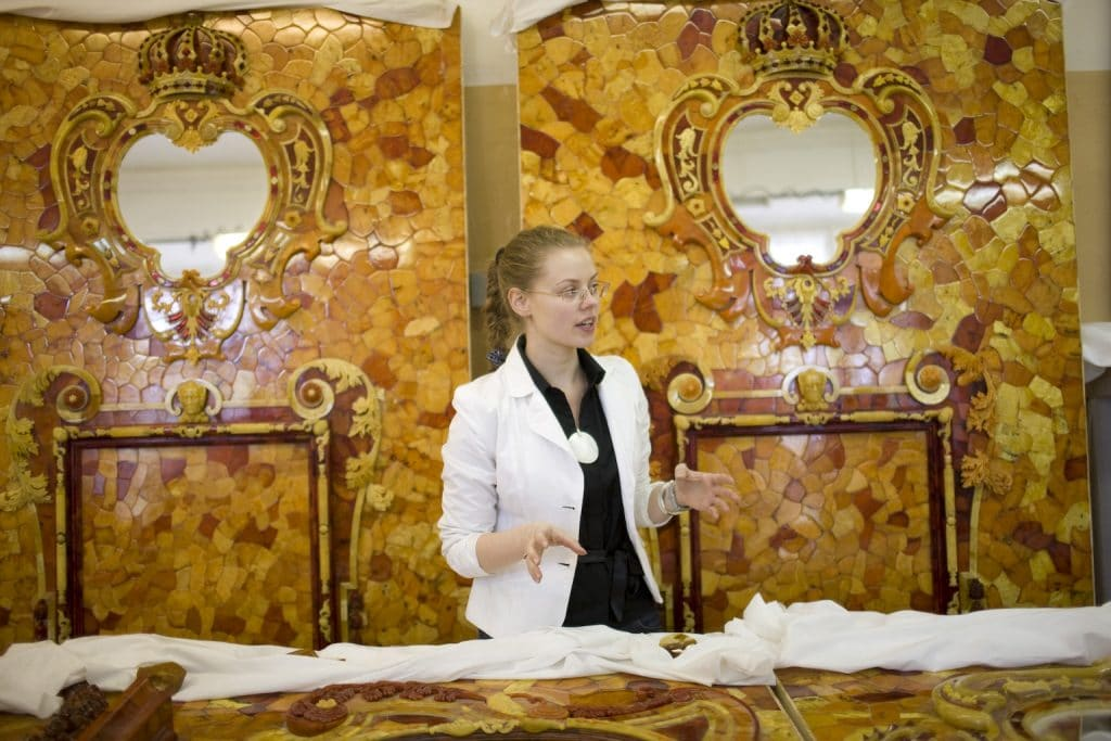 Amber Room workshops, St. Petersburg