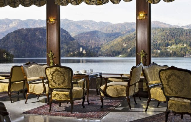 Grand Hotel Toplice Lake Salon