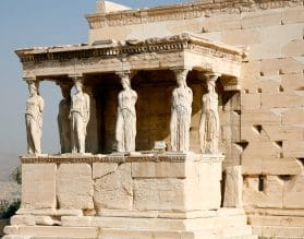 Erechtheion - Athens, Greece
