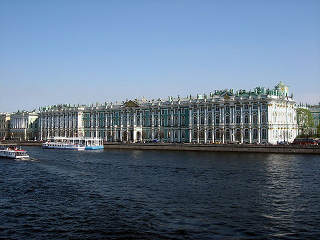 Winter Palace at the State Hermitage Museum - St. Petersburg, Russia