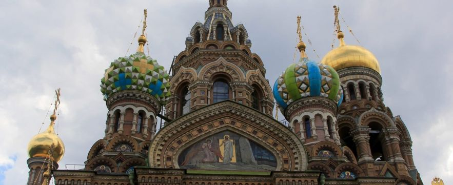 Church of Spilled Blood - St. Petersburg, Russia