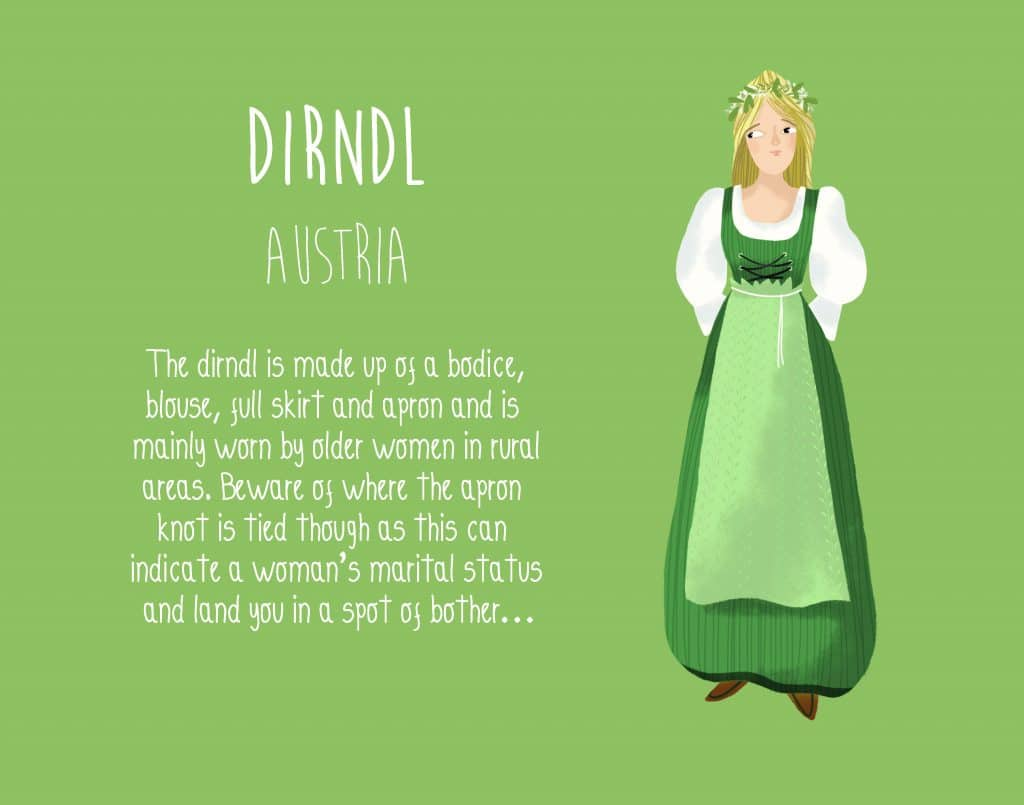 Austria The Dirndl