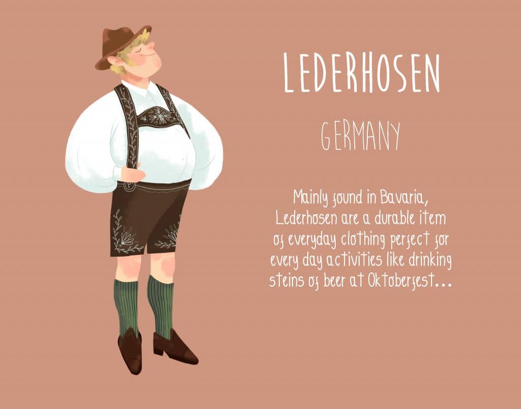 Germany Lederhosen