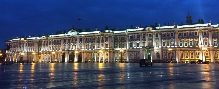 Winter Palace at the Hermitage - St. Petersburg, Russia