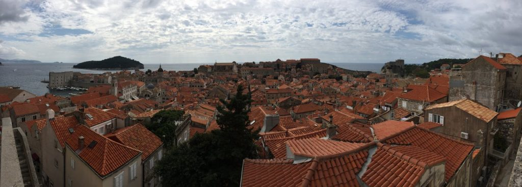 Dubrovnik walking the walls