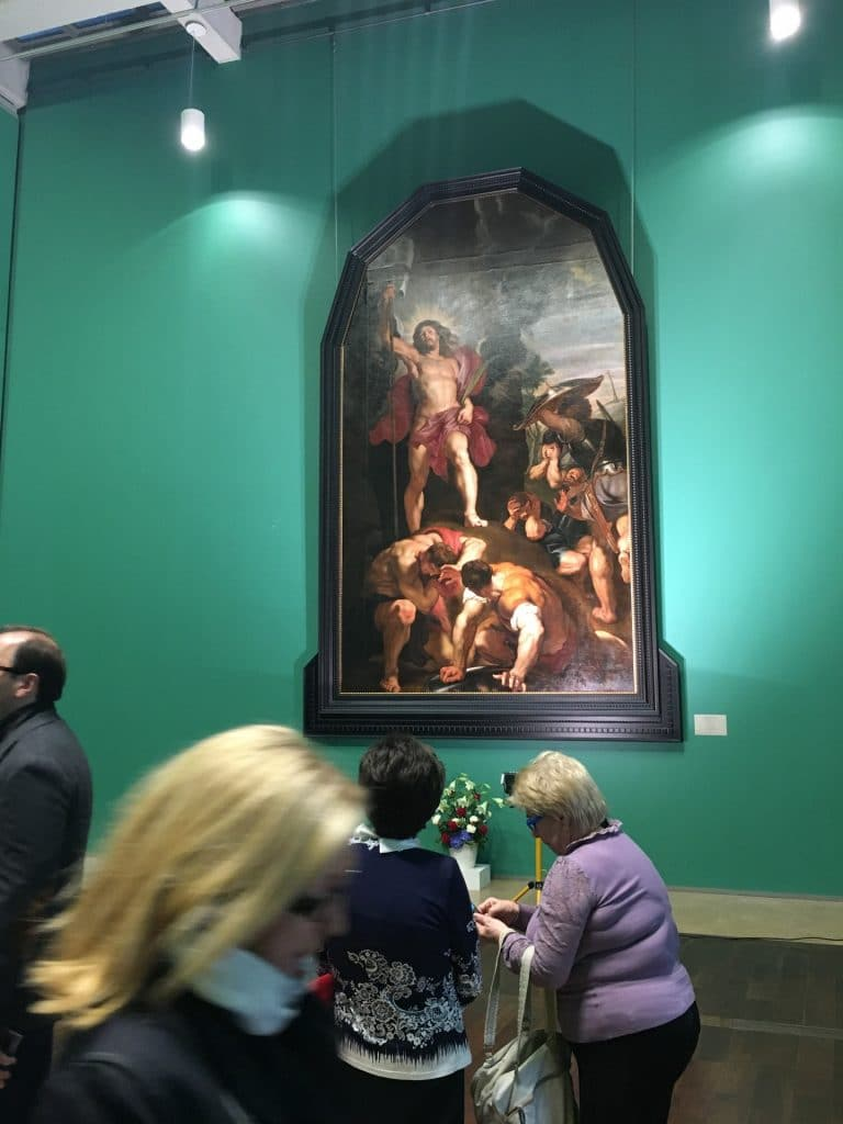 Rubens General Staff Building Hermitage St Petersburg