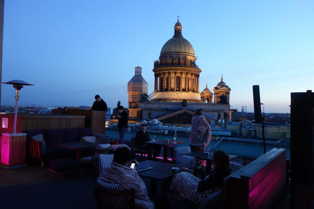 Wine Terrace W Hotel St Petersburg
