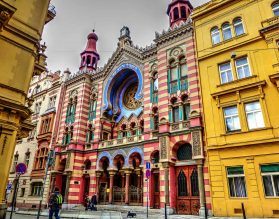 Jubilee Synagogue - Prague, Czech Republic