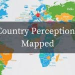 Country perceptions mapped