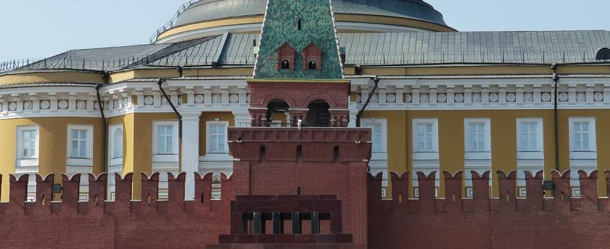 Lenin's Mausoleum - Moscow, Russia
