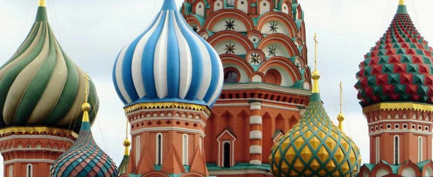 Saint Basil's Cathedral - Moscow, Russia