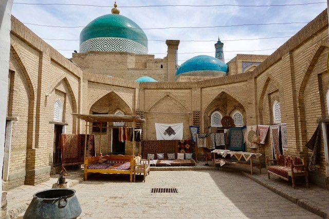Silk Carpet Workshop Khiva