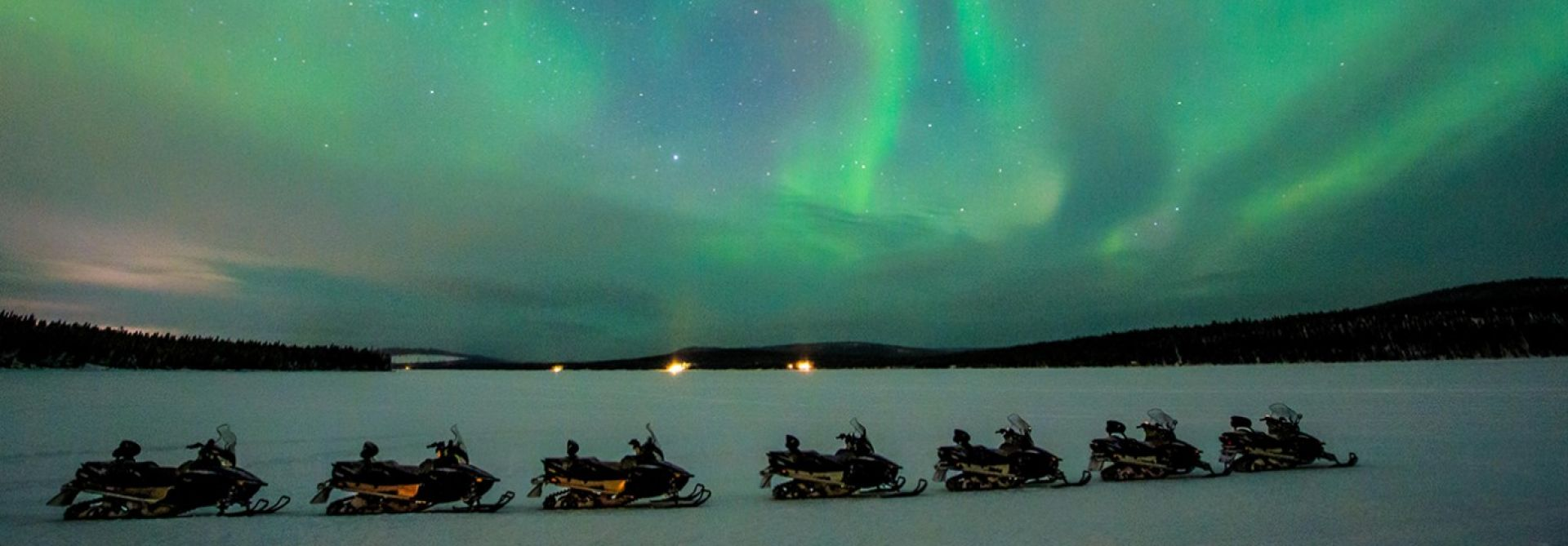Snowmobile & Northern Lights at Icehotel, Sweden