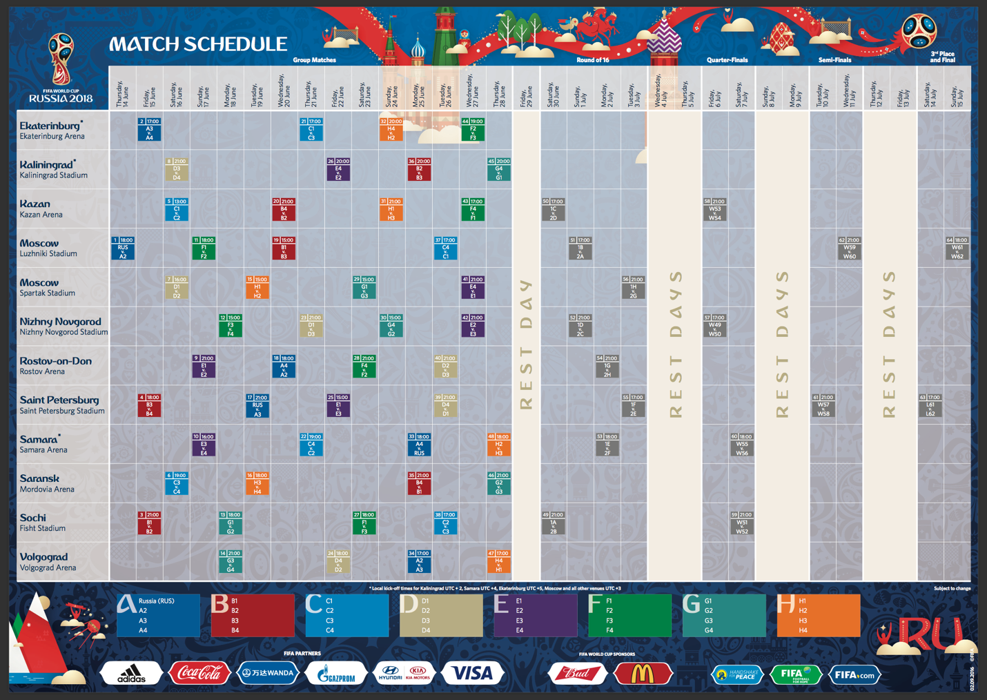 Cool Final World Cup 2018 - world-cup-schedule  Gallery_348674 .png