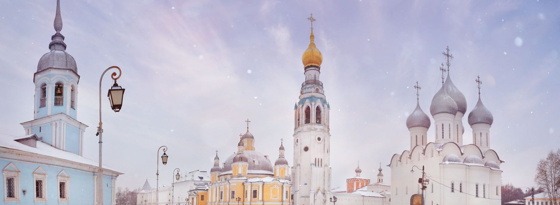 Kremlin Churches Winter