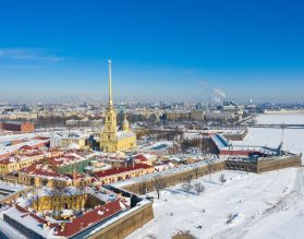 Peter & Paul Fortress Winter